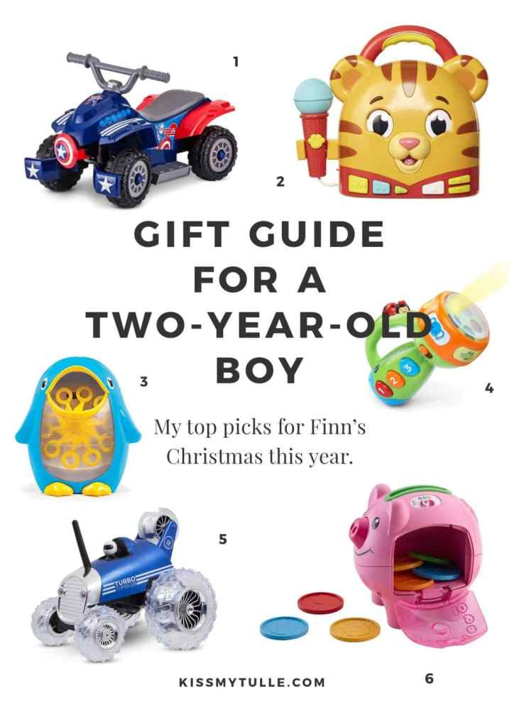 Gift Guide for a Two-Year-Old Boy - Kiss My Tulle