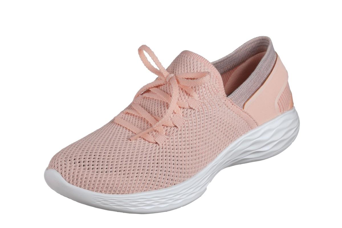Skechers You Spirit Peach Women's Slip On Comfort Shoes - KissShoe