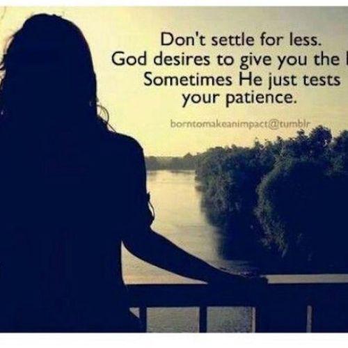 fear patience
