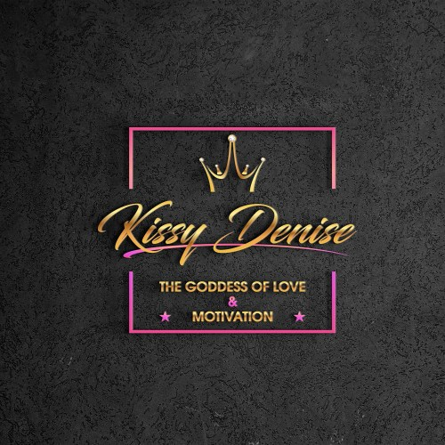 black logo kissy denise