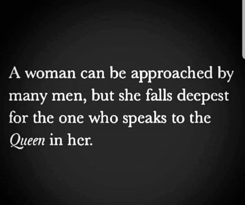 speak to the queen in her