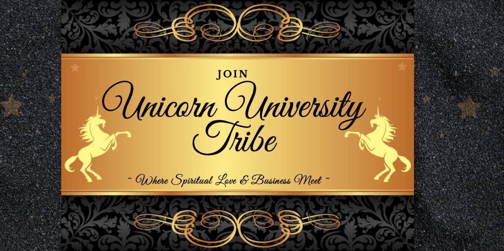 unicorn university tribe logo