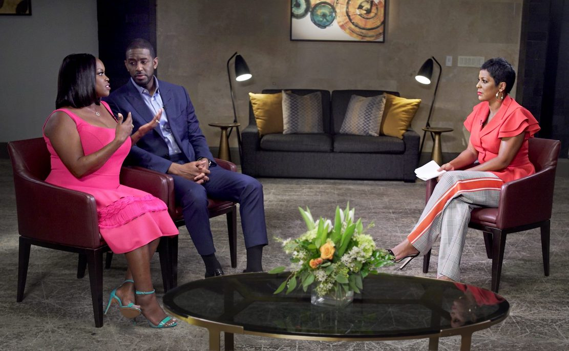 R. Jai Gillum and Andrew Gillum sit down for an interview with Tamron Hall