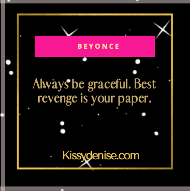BEYONCE GRACEFUL QUOTE