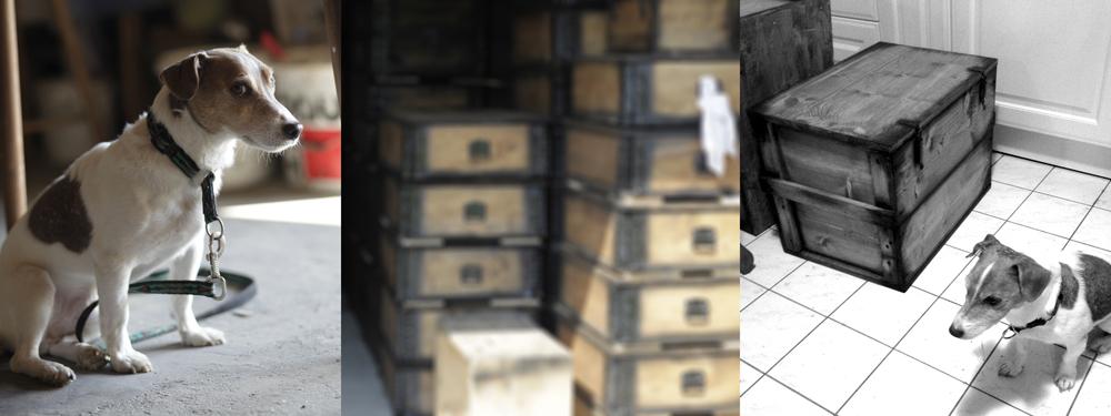 kelle Kistenjack Vintagemöbel und Wohnaccessoires wie Holzkisten und Recyclingmöbel
