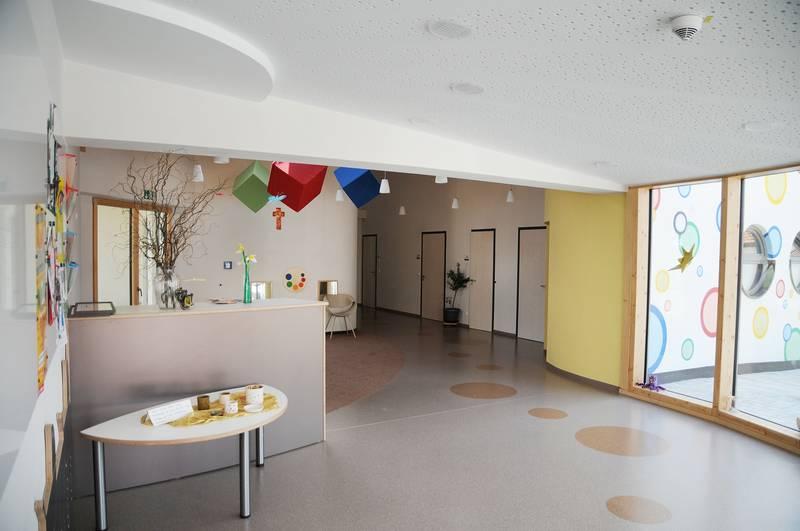 Kita  Kindergarten  Niedergottsau  Haiming Raumgestaltung