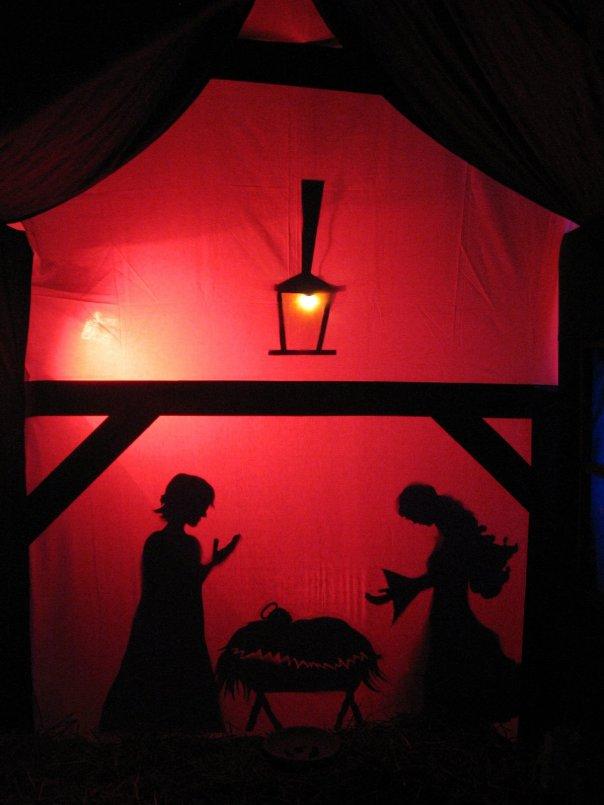 Weihnachtsgarten 09 - Im Stall