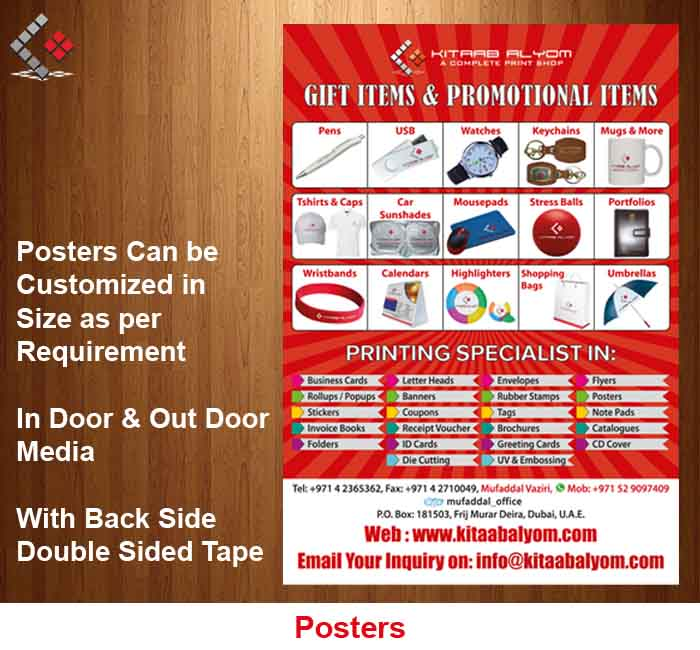 Banners Printing in Dubai, Poster Printing in Dubai, Banners & Posters