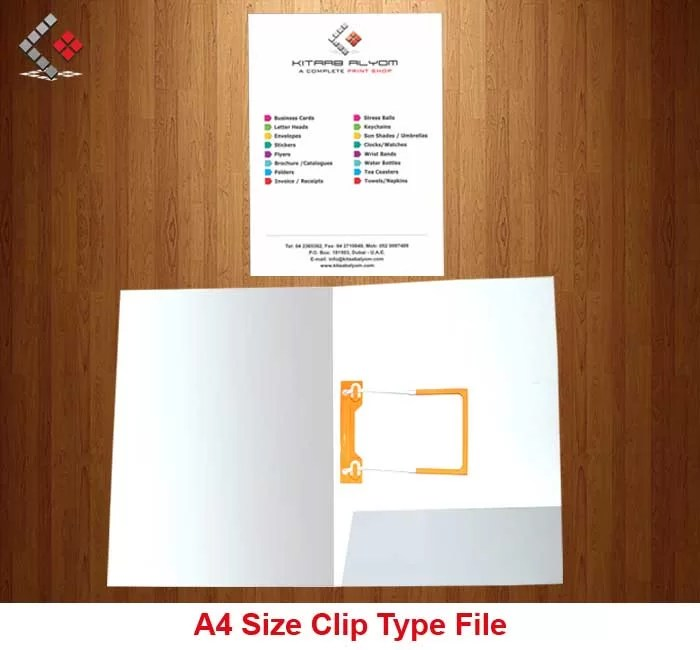Folders Printing in Dubai, Files Printing in Dubai , Presentation Files Dubai