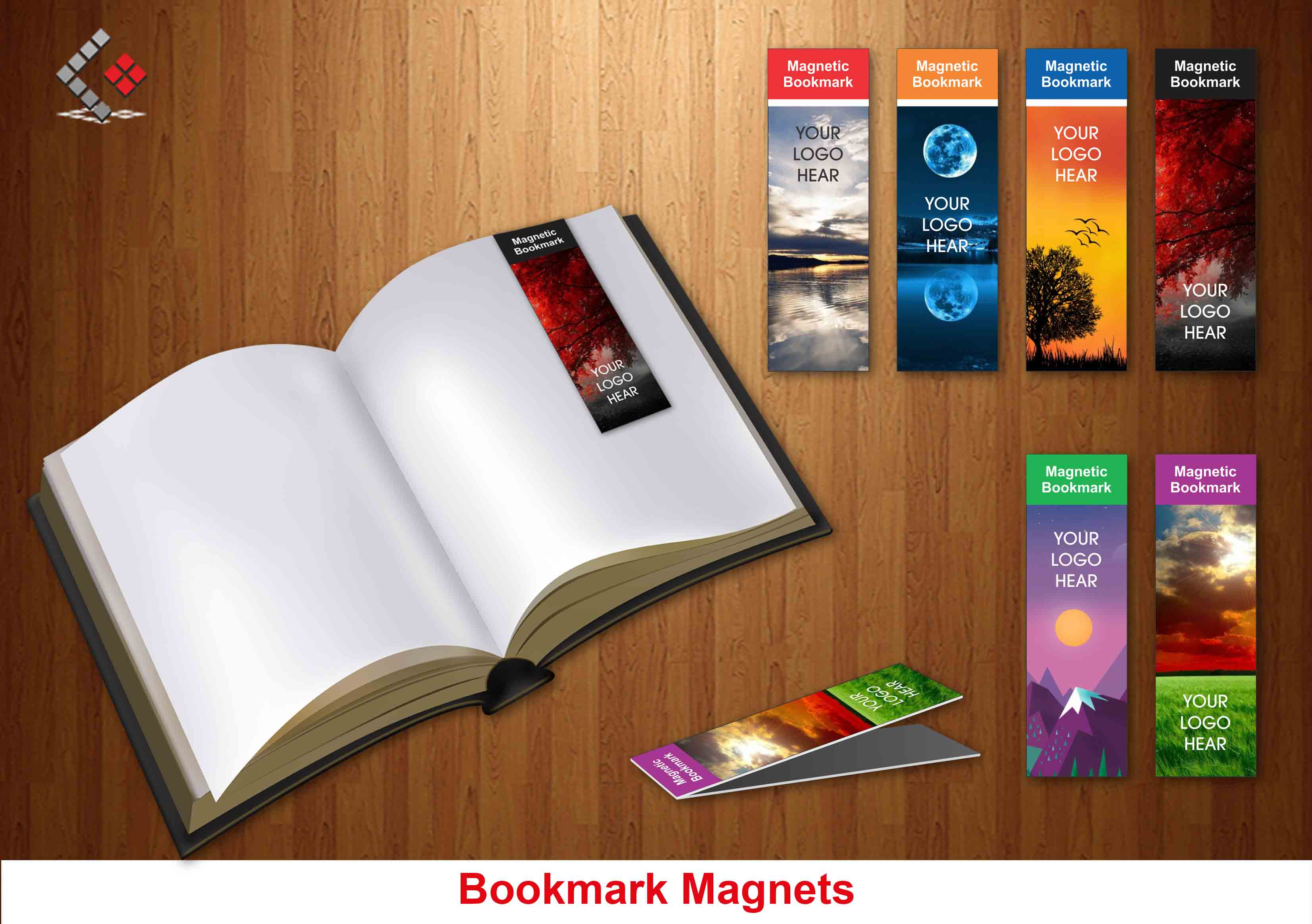 Bookmark Magnets, Magnets Promotional Items in Dubai & abu Dhabi