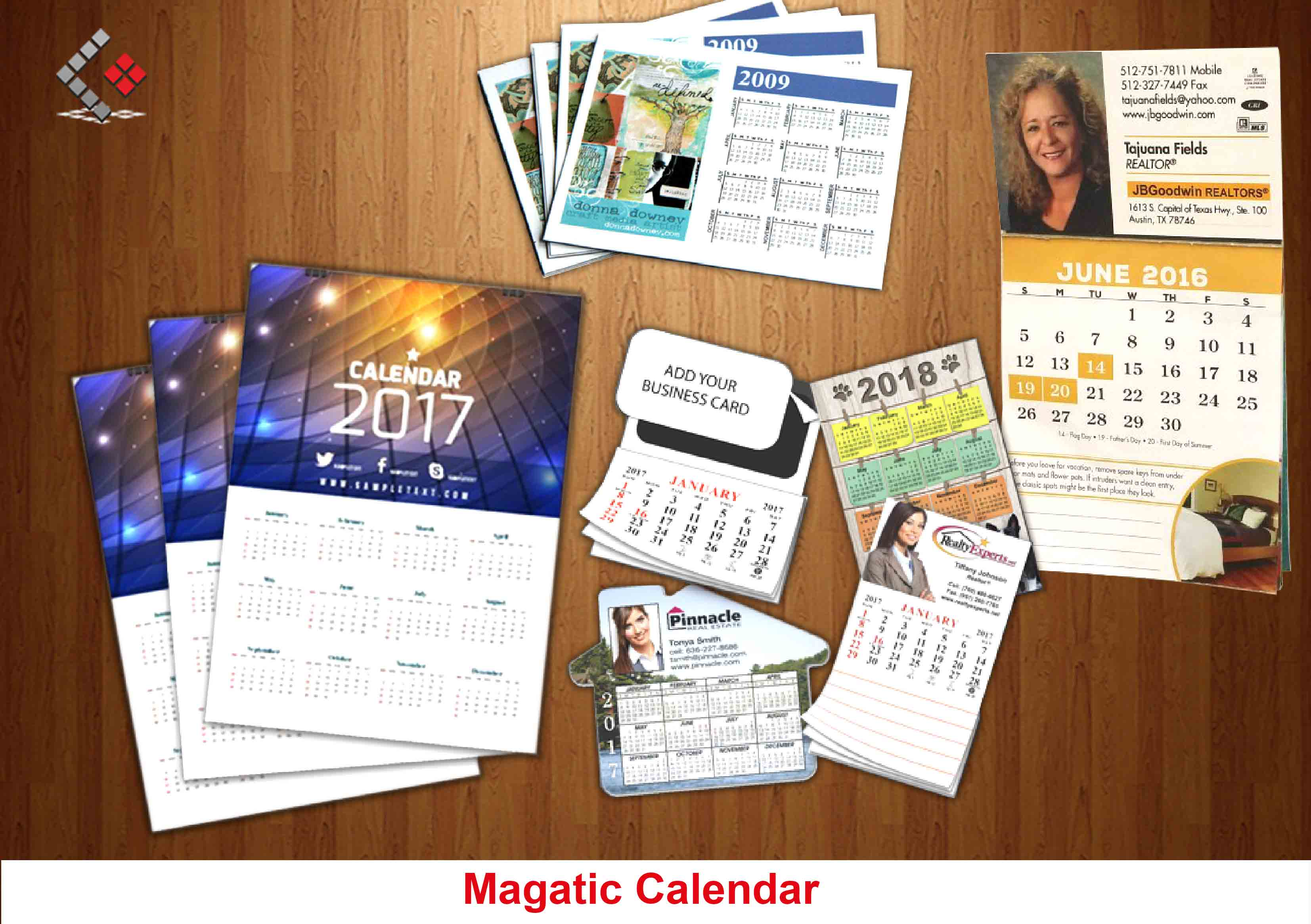 Calendar Magnets, Magnets Promotional Items in Dubai & abu Dhabi