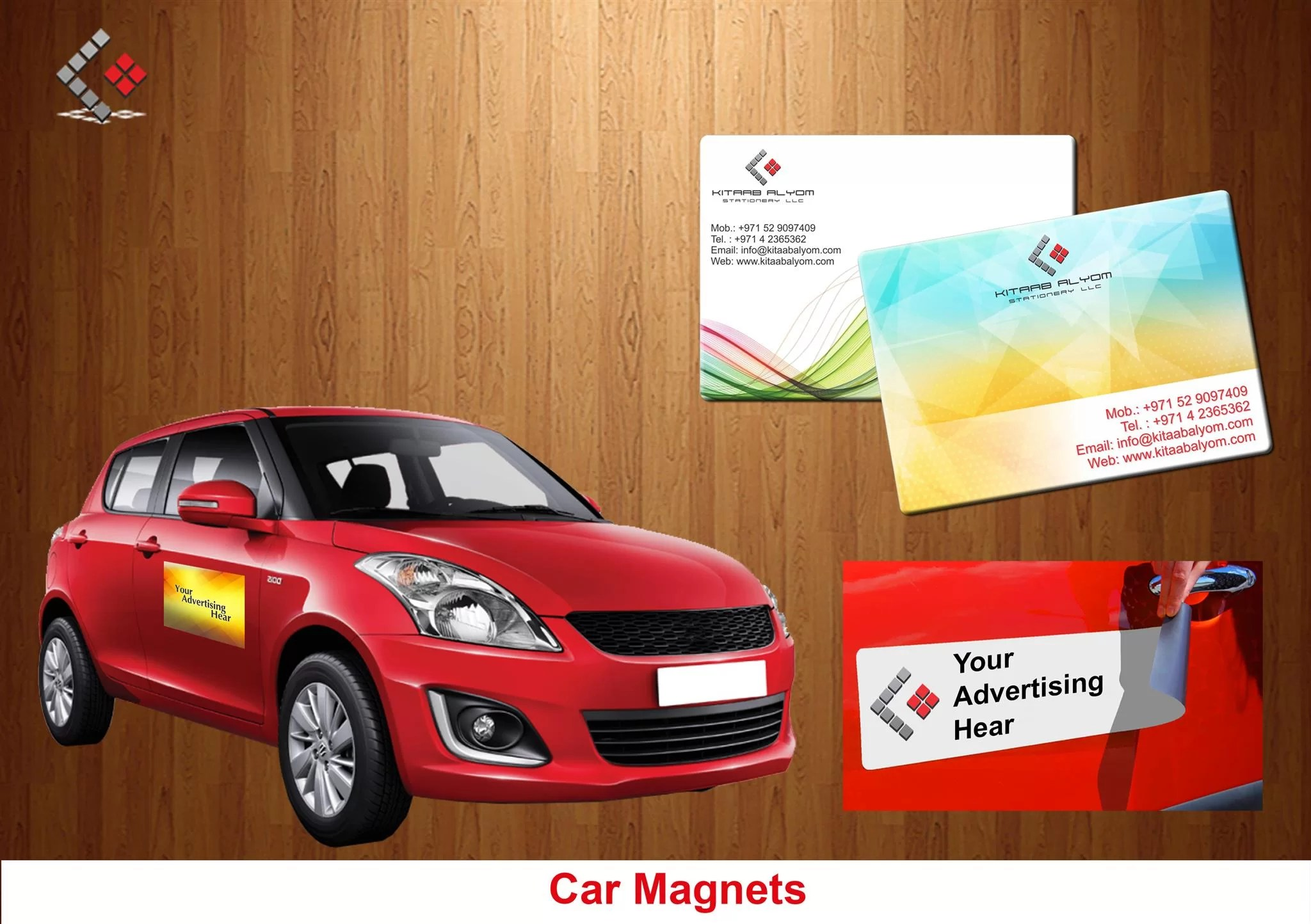 Car Magnets, Magnets Promotional Items in Dubai & abu Dhabi