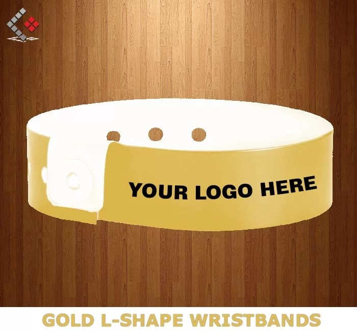 Wristband Printing in Dubai, L-Shape Wristbands Printing in Dubai