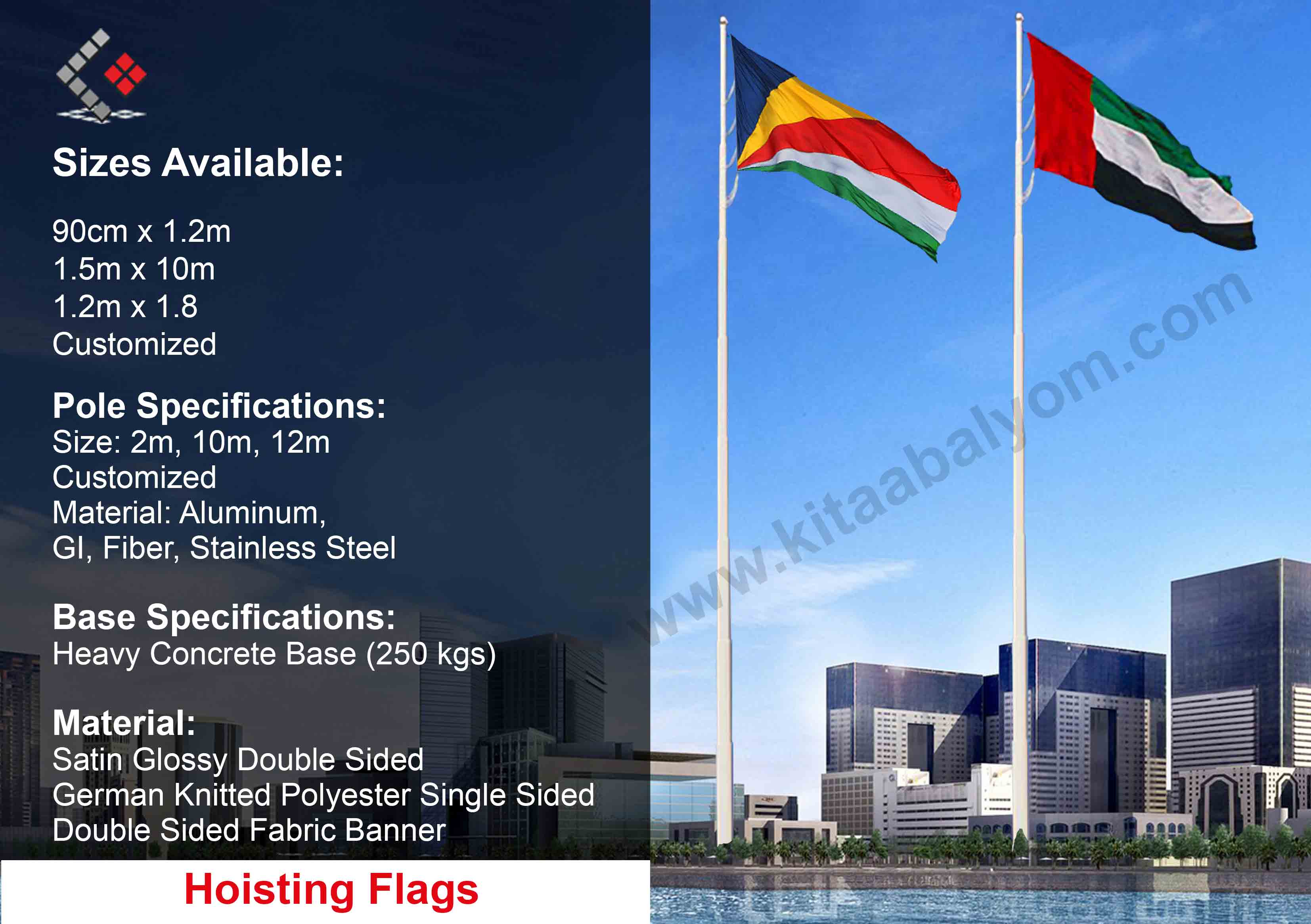 Housting Flag Printing In Dubai, National Flags, Flags Dubai & Abu Dhabi