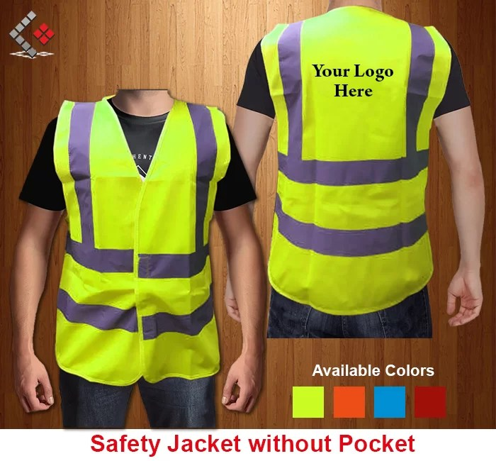 Safety Jacket, Print Reflective Jacket, Safety Vest Jacket Printing in Dubai