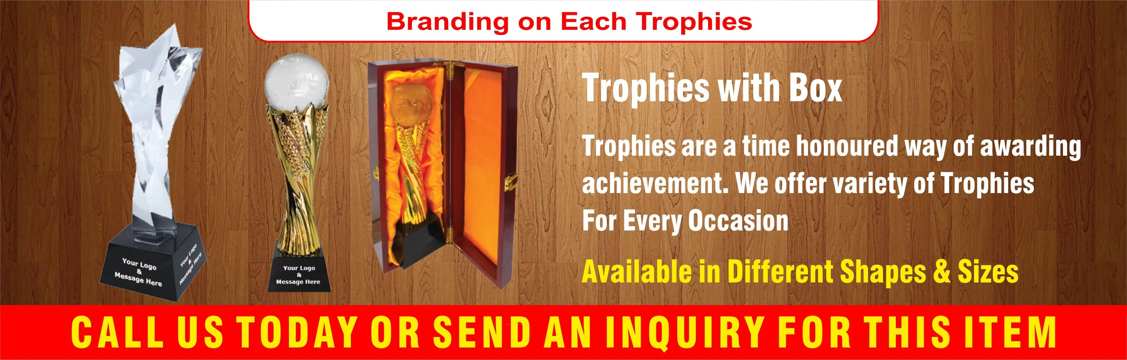 Sports Trophies, Corporate Trophy's, Awards, Trophies in Dubai - UAE