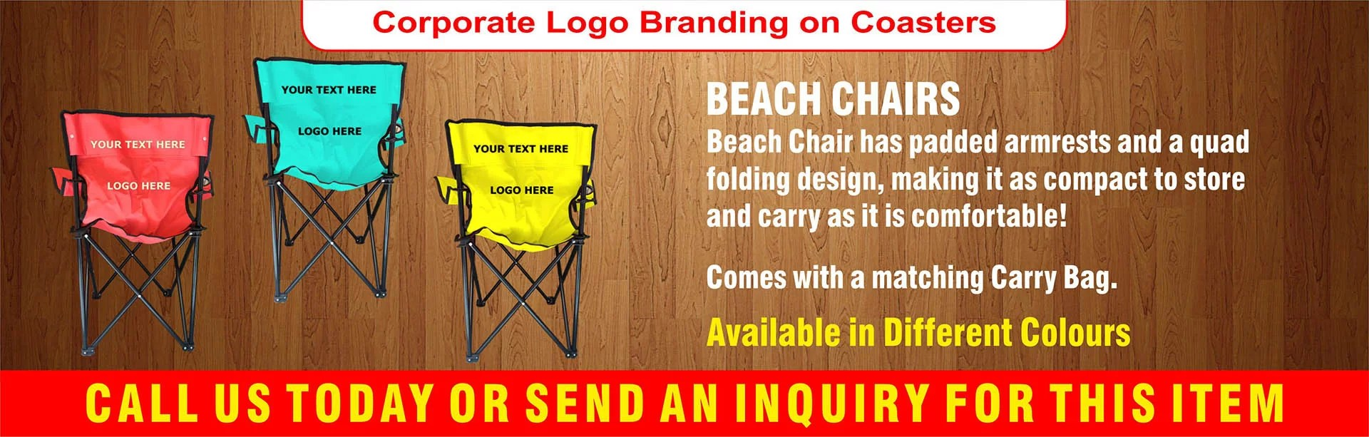 Beach Chairs Dubai, Beach Chairs in Dubai, Printing on Beach Chair, Branding on Beach Chair,