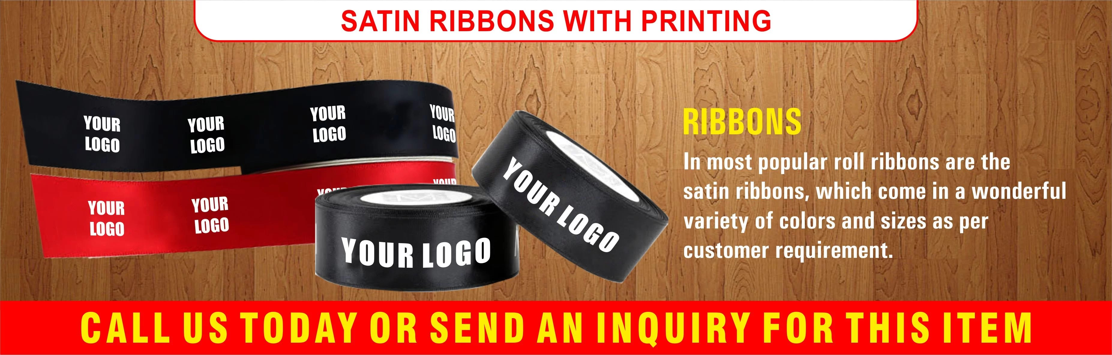 Customised Ribbon Printing-ribbon supplier in dubai-Ribbon printing in dubai