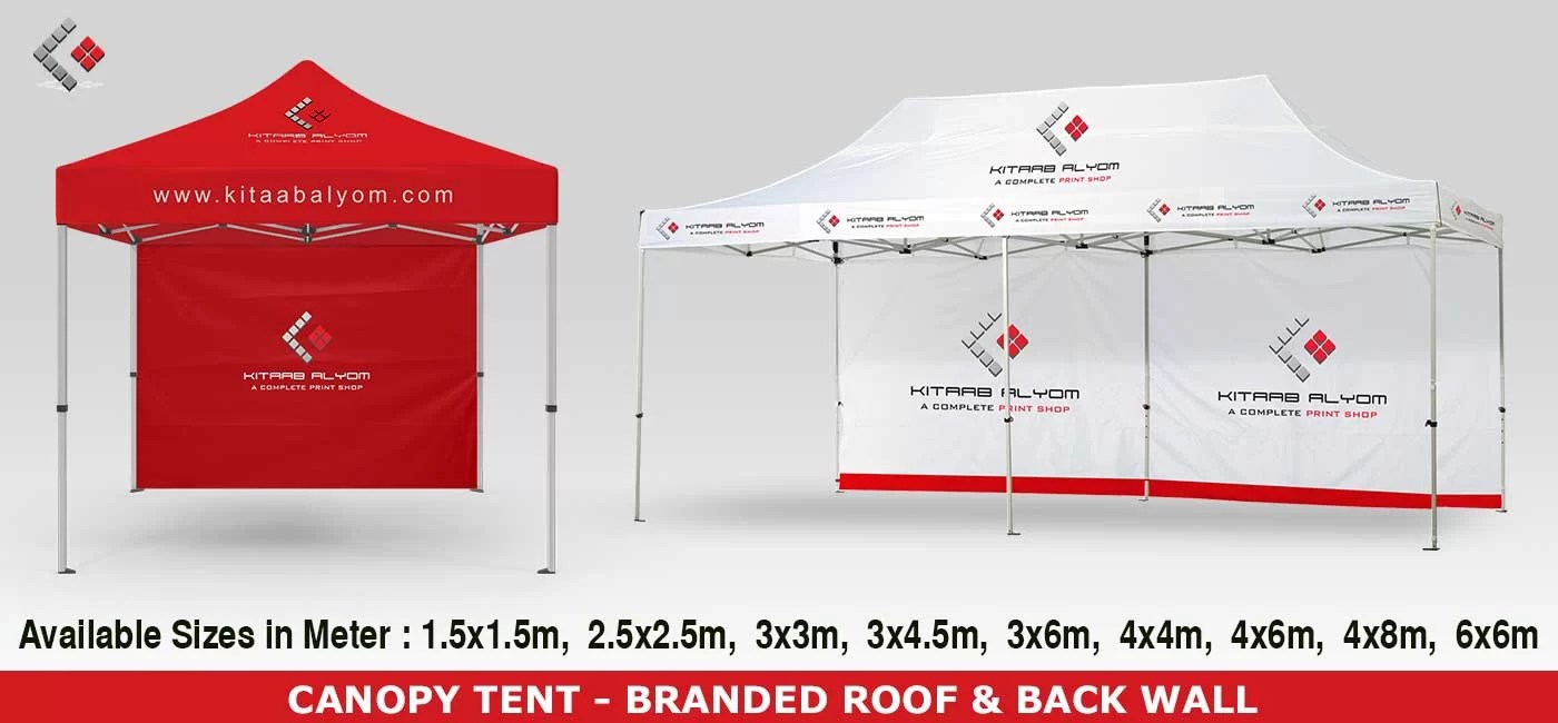 Customized Instant Canopy Dubai, Canopies, Gazebo printing in Dubai, Abu Dhabi & UAE