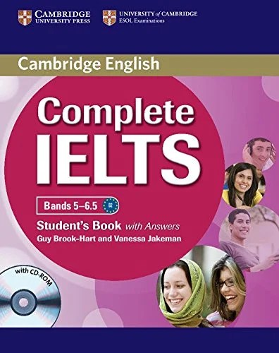 Cambridge Complete IELTS Bands 5-6.5 (Student's book with Answers)