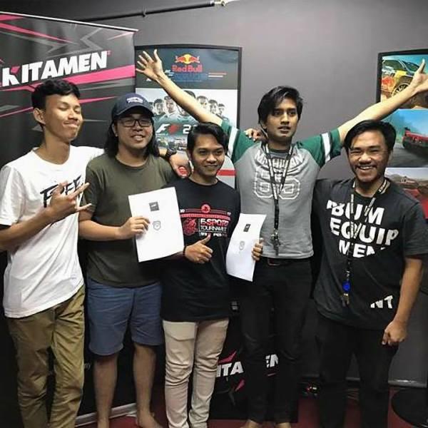 Kitamen Shah Alam Sponsoring Roku Esports Team