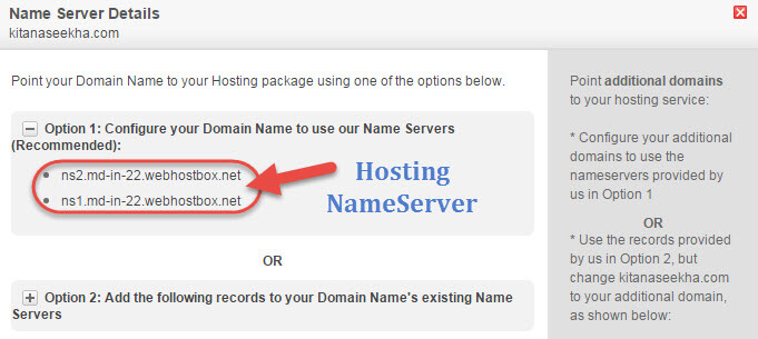 Hostgater Name Server Find