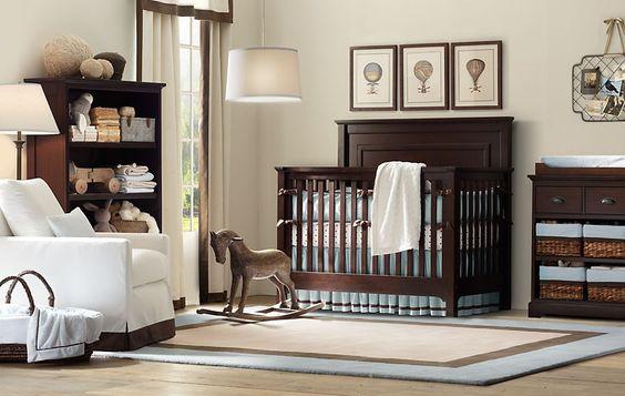 Kit Bero marrom deixa o quarto de beb mais aconchegante