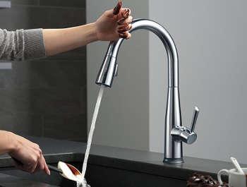 best touch kitchen faucet reviews on sensor
