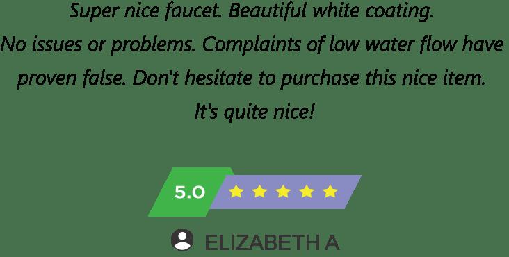KOHLER K 15160 CP customer says