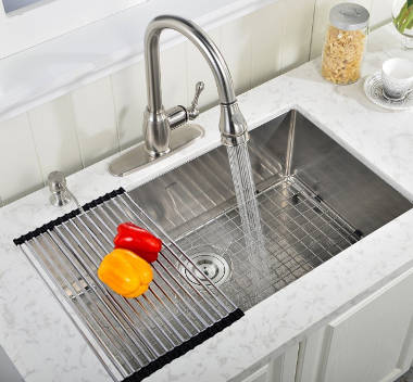 deep kitchen sinks