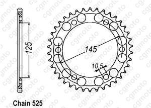 Kit trasmissione Yamaha Tdm 850 Rinforzata O-ring Regina