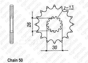 Kit chaîne moto pour TRIUMPH ADVENTURER 900 T394 2000