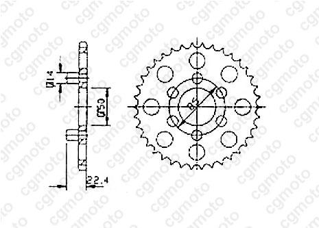 Kit chaîne moto pour APRILIA CLASSIC 50 1998