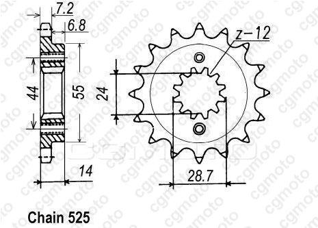 Kit chaîne moto pour HONDA XRV 750 AFRICA TWIN RD04 1991