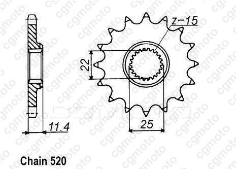 Kit chaîne moto pour KTM SXC 400 TIAINEN REPLICA 1999