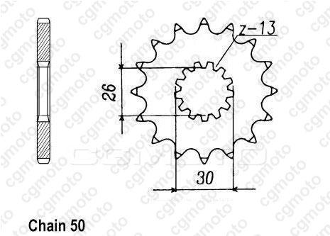 Kit chaîne moto pour TRIUMPH ADVENTURER 900 T394 1999
