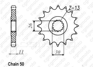 Kit chaîne moto pour YAMAHA FZ1 1000 FAZER N/S 2D1 3C3 2006
