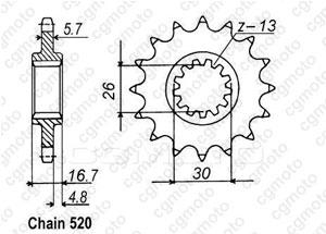 Kit chaîne moto pour HONDA CBR 929 RR FIREBLADE SC44 2000