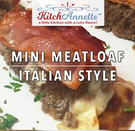 KitchAnnette Mini Meatloaf Title Shot