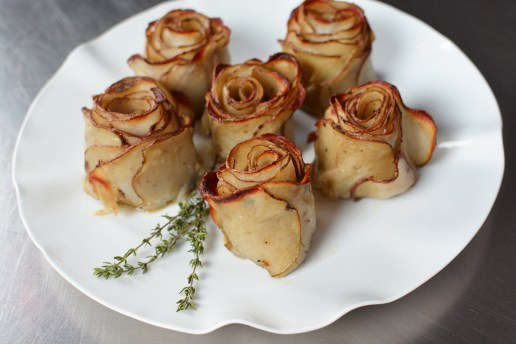 KitchAnnette Potato Roses Platter