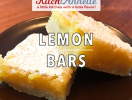 KitchAnnette Lemon Bars Title
