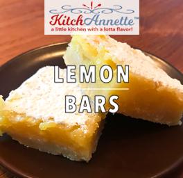 KitchAnnette Lemon Bars Title