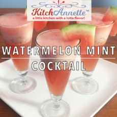 KitchAnnette Watermelon Mint Cocktail Feature