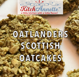 KitchAnnette Scottish Oatcakes Feature Shot