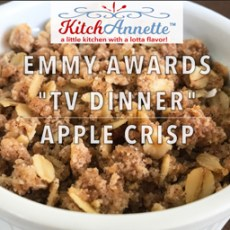 KitchAnnette TV Dinner Apple Crisp Feature Shot