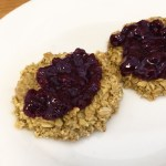 KitchAnnette Scottish Oatcakes Blueberry Jam