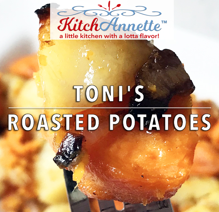 KitchAnnette Roasted Potatoes Feature
