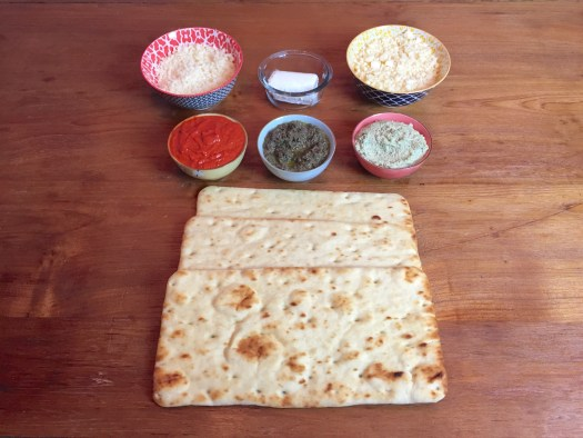 KitchAnnette 3 Flatbreads Ingredients