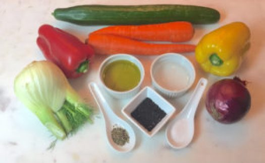 KitchAnnette Veg Out Ingredients