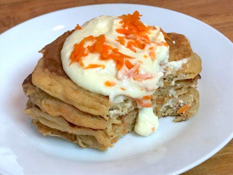 KitchAnnette Carrot Pancake Bite
